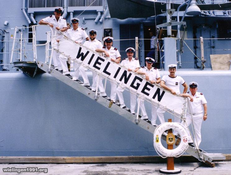 F910 WIELINGEN - Operation SOUTHERN BREEZE 06_pont